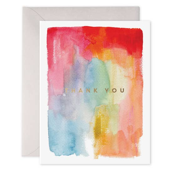 E Frances - Greeting Card - Colourful Thanks