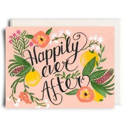Inkwell Cards - Greeting Card - Happily Ever After