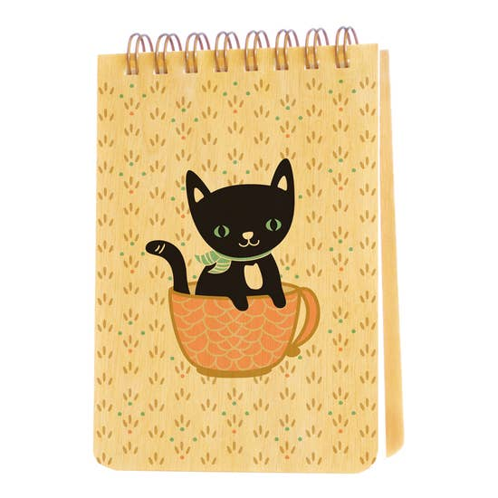 Night Owl Goods - Notepad - Cuppa Kitty