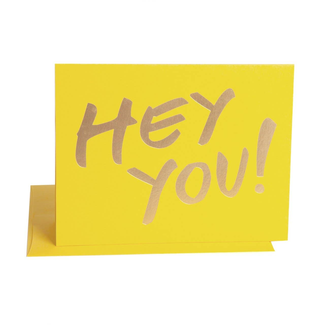 The Social Type - Greeting Card - Hey You