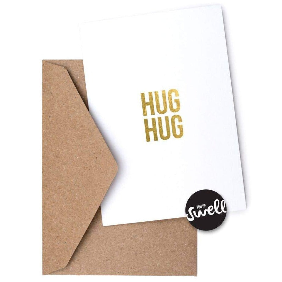 Swell Made - Greeting Card - Hug Hug
