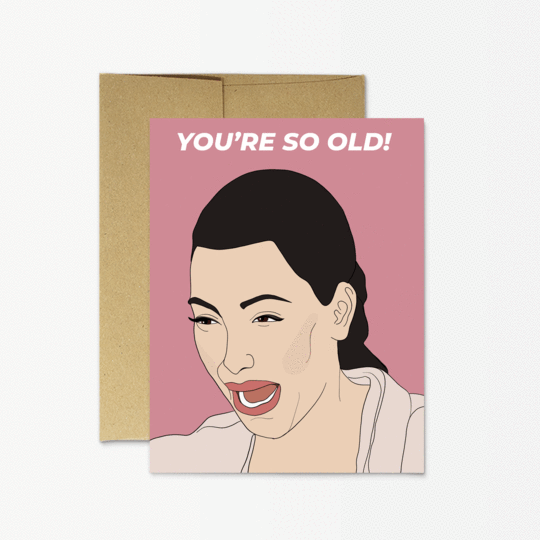 Party Mountain Greeting Card - Kim So Old