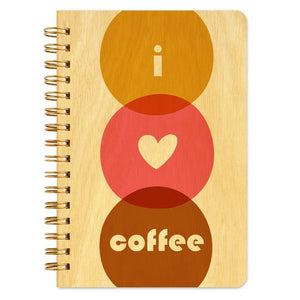 Night Owl Goods - Notebook - I Love Coffee