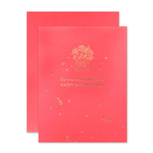 The Social Type - Greeting Card - Amazing Mom