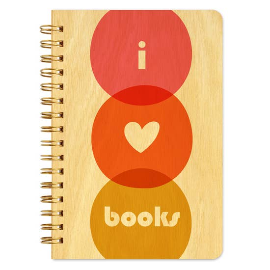 Night Owl Goods - Notebook - I Love Books