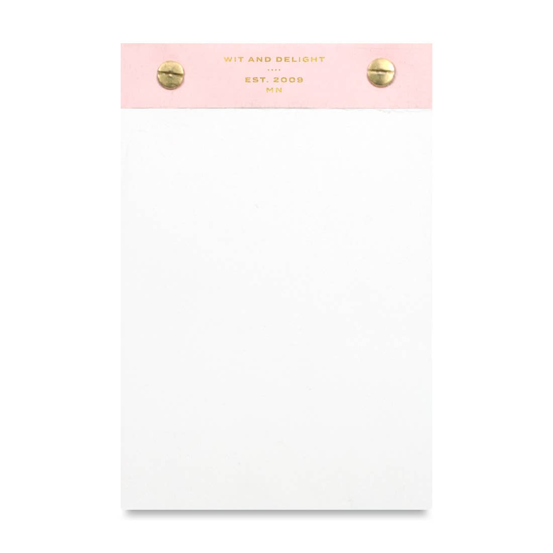 Wit & Delight Pink Desktop Notepad
