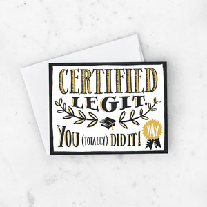 Idlewild - Greeting Card - Certified Legit