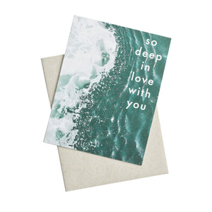 Knot & Bow - Greeting Card - Deep In Love