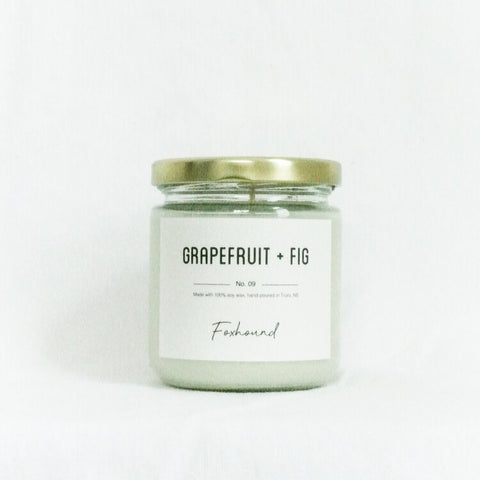 Foxhound Collection - Candle - Grapefruit + Fig