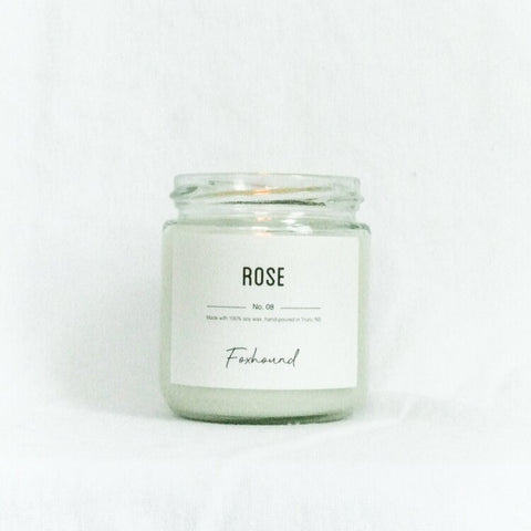Foxhound Collection - Candle - Rose