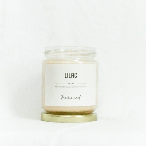 Foxhound Collection - Candle - Lilac