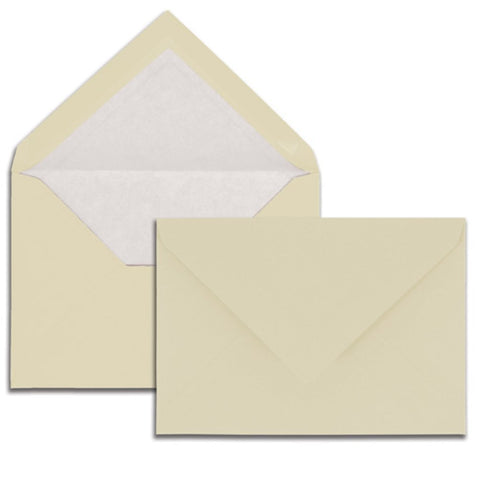 G. Lalo - Verge de France - Envelopes - C6 - Ivory