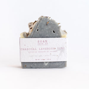 Soak Bath Co Soap - Charcoal Lavender