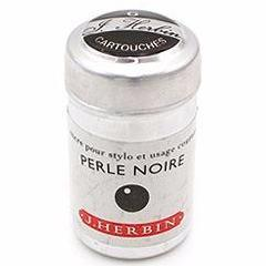 J. Herbin - Ink Cartridges - Perle Noire