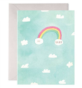 E Frances - Greeting Card - Hi Baby