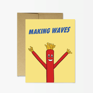 Party Mountain - Greeting Card - Making Waves