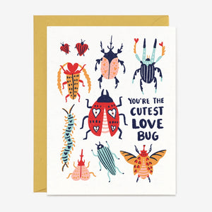 Paper Pony Co - Greeting Card - Love Bug