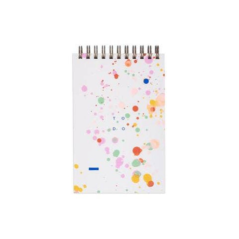Moglea - Notepad - To Do - Rainbow Speckle