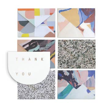 Moglea - Boxed Notes - Thank You - Round Card
