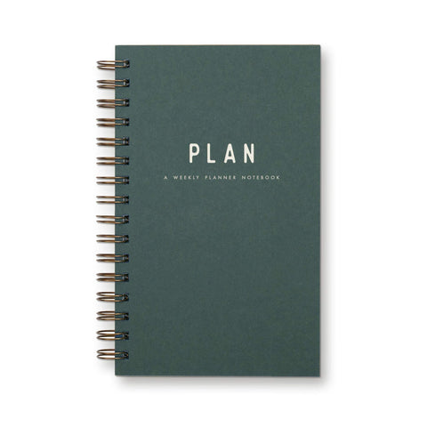 Ruff House Art - Weekly Planner - Plan - Forest Green