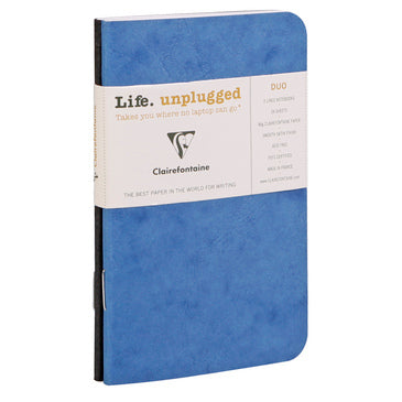 Clairefontaine - Duo Mini Notebooks - 2-Pack - Lined