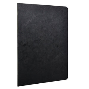 Clairefontaine - Notebook - Stapled - A4 - Black