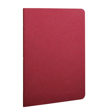 Clairefontaine - Notebook - Stapled - A5 - Red