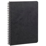 Clairefontaine - Notebook - Coiled - A5 - Black