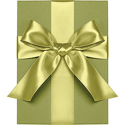 "Waste Not Paper - Ribbon - 1/4"" - Satin - Chartreuse"