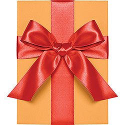 "Waste Not Paper - Ribbon - 1"" - Satin - Persimmon"