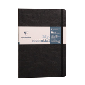 Clairefontaine - Notebook - My Essential - A5 - Black