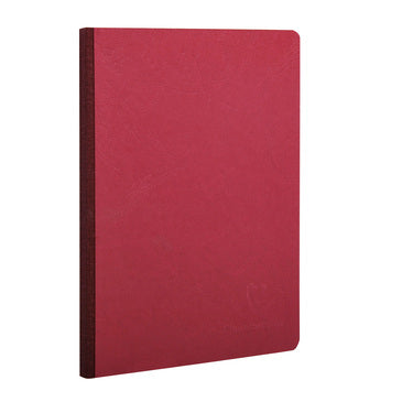 Clairefontaine - Notebook - Cloth Spine - A5 - Red