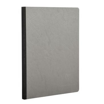 Clairefontaine - Notebook - Cloth Spine - A4 - Grey