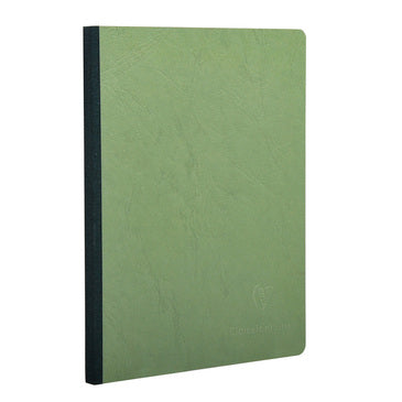 Clairefontaine - Notebook - Cloth Spine - A4 - Green