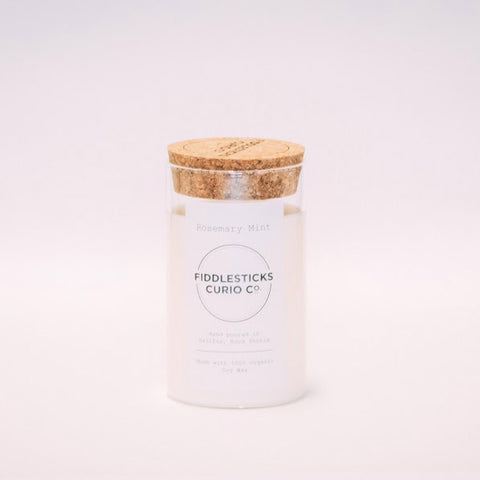 Fiddlesticks Curio Co - Candle - Rosemary + Mint