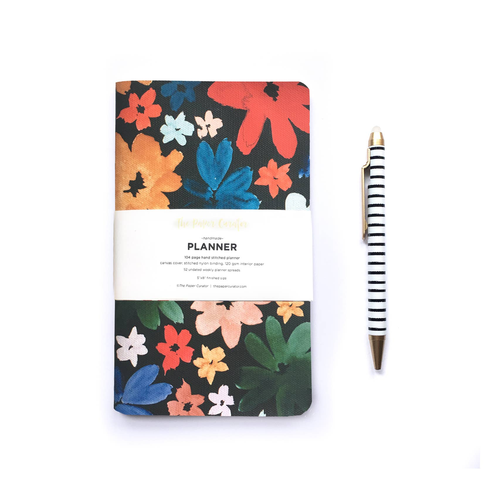 The Paper Curator - Undated Planner - Flora