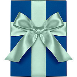 "Waste Not Paper - Ribbon - 1"" - Satin - Pool"