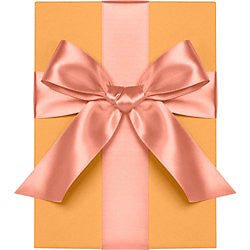 "Waste Not Paper - Ribbon - 1"" - Satin - Coral"
