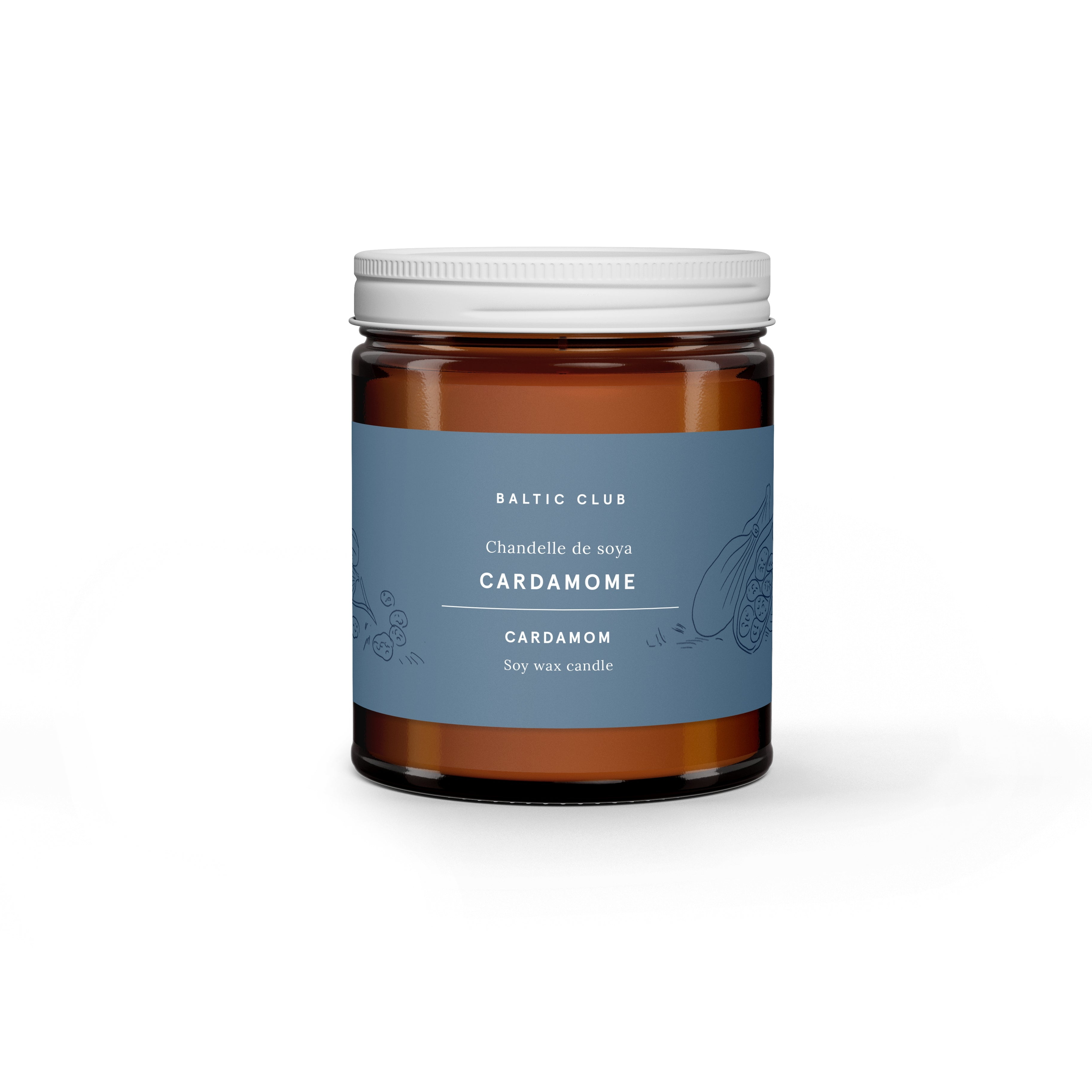 Soy Candle - Cardamom