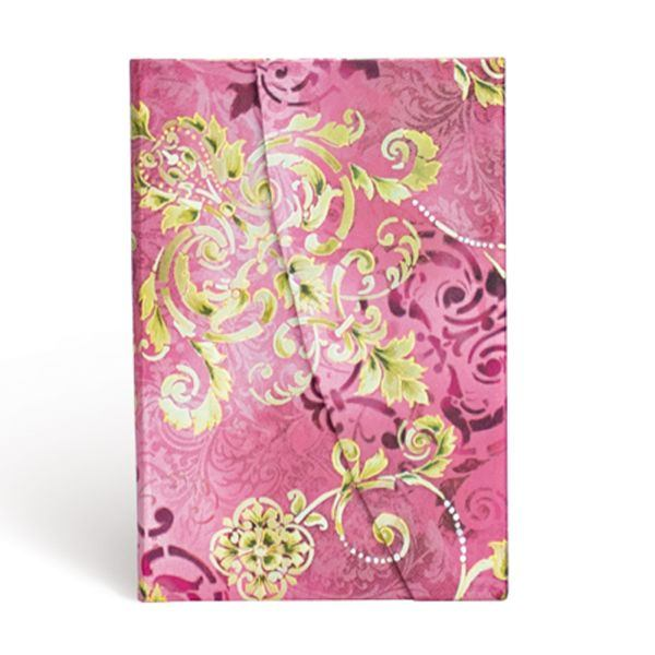 Paperblanks - Mini Lined Notebook - Polished Pearl, Belle Époque