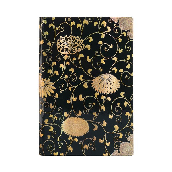 Paperblanks - Mini Unlined Notebook - Karakusa, Japanese Lacquer Boxes