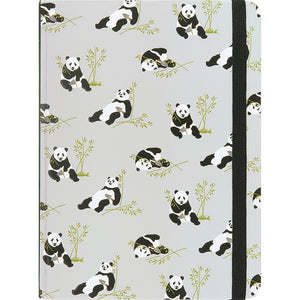 Peter Pauper Notebook - Medium Pandas