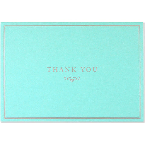 Peter Pauper - Boxed Notes - Thank You - Blue Elegance