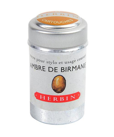 J. Herbin - Ink Cartridges - Ambre de Birmanie