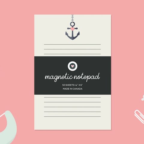 Paper Hearts - Notepad - Anchor