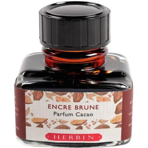 J. Herbin - Bottled Ink - Scented - 30ml - Cocoa