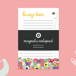 Paper Hearts - Notepad - Busy Bee