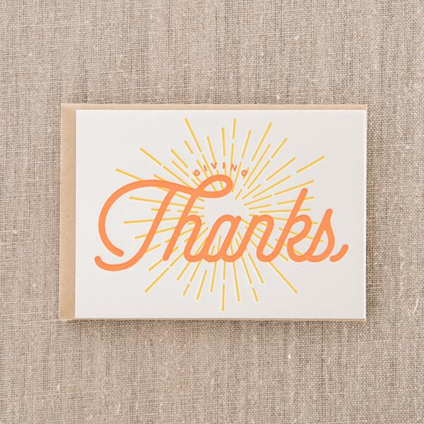 Pike Street Press - Greeting Card - Giving Thanks