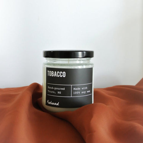 Foxhound Collection - Candle - Black Label - Tobacco