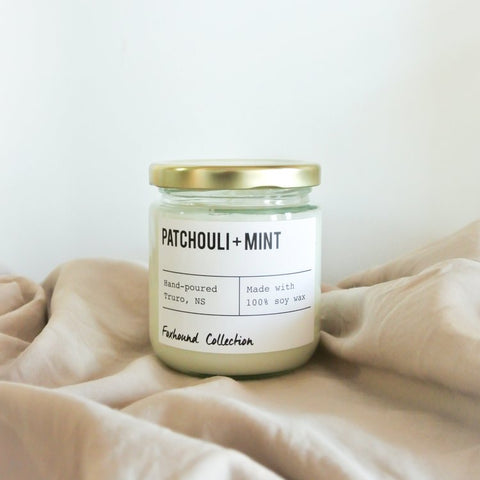 Foxhound Collection - Candle - Patchouli + Mint